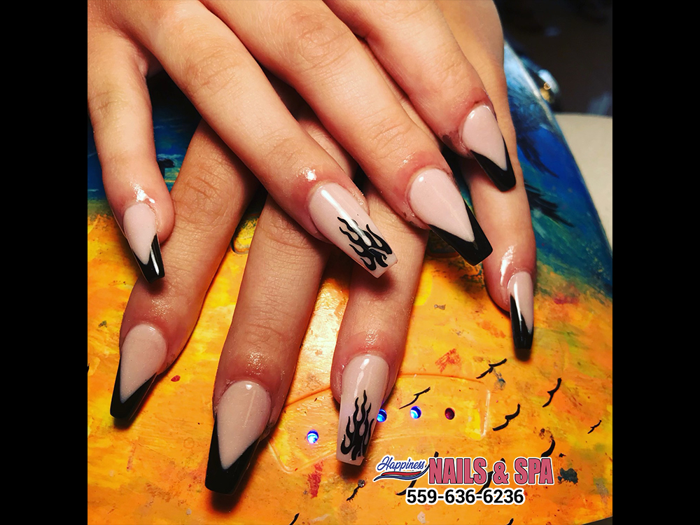 All types of nail shape and nail color ideas in Visalia 93277